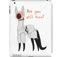 Portal: Turret Cat  iPad Case/Skin