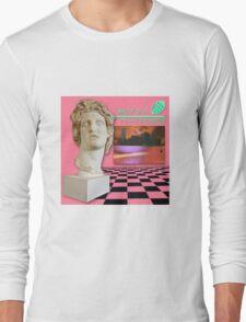 Macintosh Plus: Floral Shoppe [vaporwave] Long Sleeve T-Shirt
