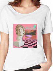 Macintosh Plus: Floral Shoppe [vaporwave] Women's Relaxed Fit T-Shirt
