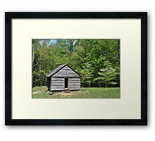 Alex Cole Cabin Framed Print