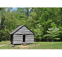 Alex Cole Cabin Photographic Print