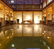 The Roman Baths, Bath II by amhollingsworth