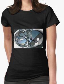 Sculpture Womens Fitted T-Shirt