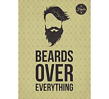 Berads over everything poster Photographic Print