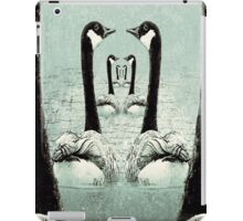 Synchronized Swimming Geese  iPad Case/Skin