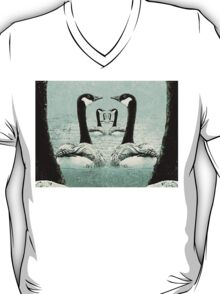 Synchronized Swimming Geese  T-Shirt