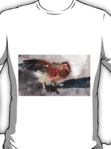 Audrey ( Chicken ) - From original pastel by Madeleine Kelly T-Shirt