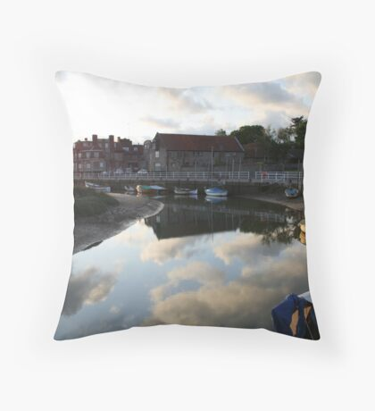 Blakeney Harbour Throw Pillow