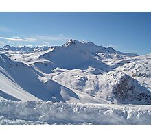 Tignes Photographic Print