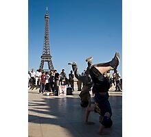 french break-dancing Photographic Print