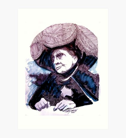 Carnak, Tribute to Johnny Carson Art Print