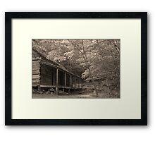 Ogle Place Framed Print