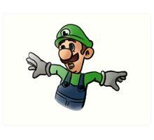 Luigi Art Print