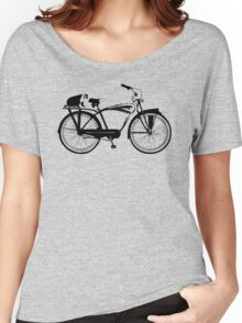 Badger On A Bicycle Women's Relaxed Fit T-Shirt