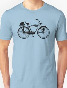 Badger On A Bicycle Unisex T-Shirt