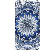 Blue Labyrinth  iPhone Case/Skin