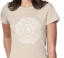 Vintage Lotus Womens Fitted T-Shirt