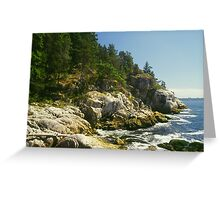 Whytecliffe Park, North Vancouver British Columbia Greeting Card