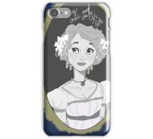 Old Fashioned Love Story iPhone Case/Skin
