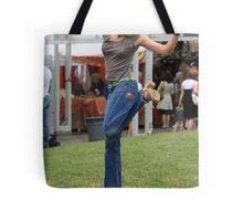 Hacky Sack In Heels Tote Bag