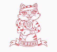 Get Yourself PurrFit! Men's Baseball ¾ T-Shirt