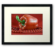 paprika&beads Framed Print