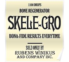 Skele-Gro Label Poster
