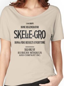 Skele-Gro Label Women's Relaxed Fit T-Shirt