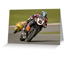 BSB Rider Cal Crutchlow Greeting Card
