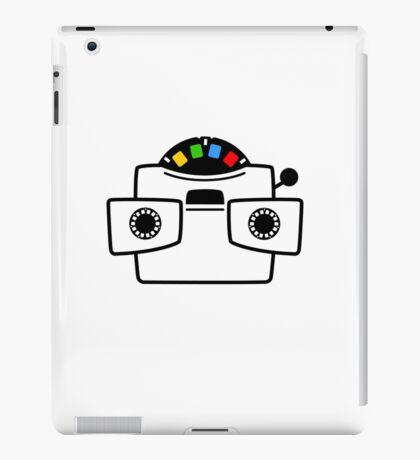 Viewmaster Black Colours iPad Case/Skin