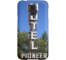 Route 66 - Pioneer Motel Samsung Galaxy Case/Skin