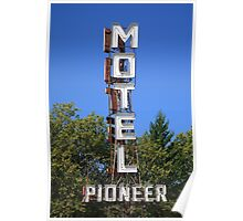 Route 66 - Pioneer Motel Poster