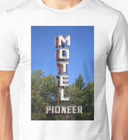 Route 66 - Pioneer Motel Unisex T-Shirt