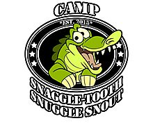 Camp Snaggle-Tooth Snuggle Snout Photographic Print