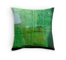 Abstract Prayer Flags 2   (Limited Edition Print of 50) Throw Pillow