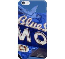 Route 66 - Blue Swallow Motel Neon iPhone Case/Skin