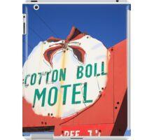 Route 66 - Cotton Boll Motel iPad Case/Skin