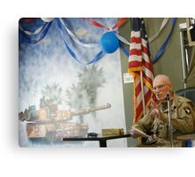 Bronze Star HERO; USA Canvas Print