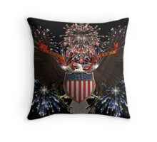 July 4 Throw Pillow