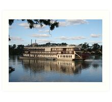 Murray Princess Riverboat Art Print