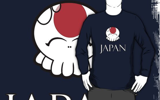 Japan National Tako-Chan by Vestque