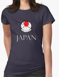 Japan National Tako-Chan Womens Fitted T-Shirt