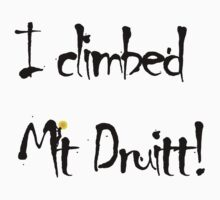 I Climbed Mt Druitt by Edward Hor