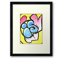 WHAT IS ART Framed Print