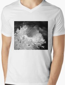 Mum's the Word. Mens V-Neck T-Shirt