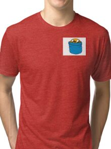 Jake in Finn's Pocket Tri-blend T-Shirt