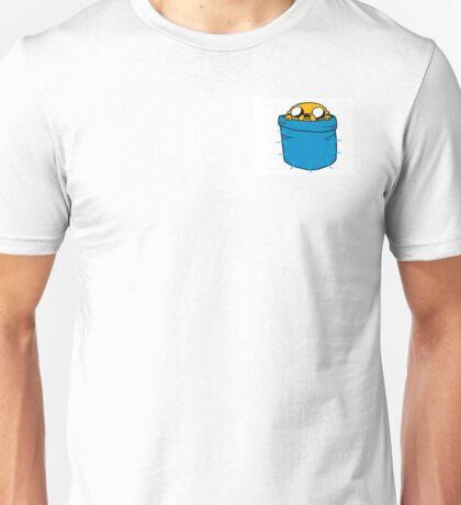 Jake in Finn's Pocket Unisex T-Shirt