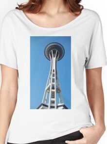 Space Needle, Seattle WA Women's Relaxed Fit T-Shirt