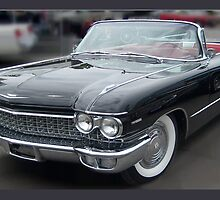 A 1960 Caddy Convertiable  by kelleybear