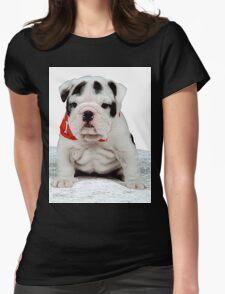 English Bulldog Womens Fitted T-Shirt